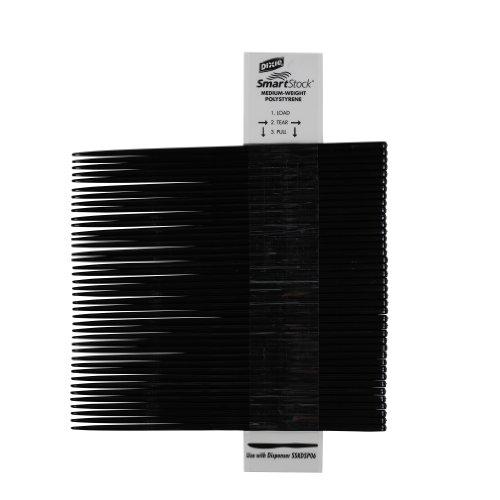 """SmartStock SSK51 7"""" Length, Black Color, Plastic Polystyrene Knife Refill (24 Packs of 40)"""