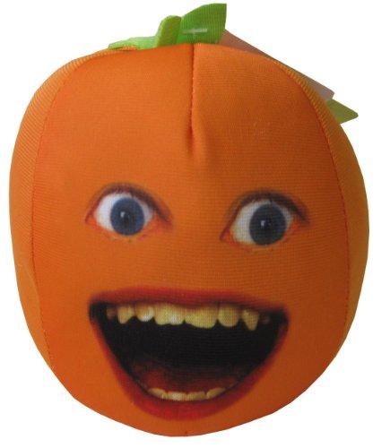 ANNOYING ORANGE オレンジ ぬいぐるみ 押したら お話します 正面 タイプ
