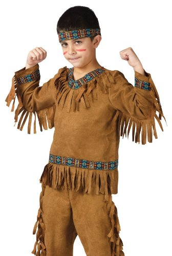 Fun World Costumes Baby Boy's Native American Toddler Boy Costume