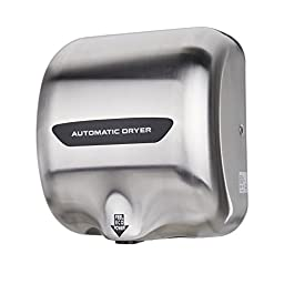 Orion Motor Tech Commercial Hand Dryer Stainless Steel Automatic Polished