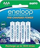eneloop (2nd gen) AAA 1500 Cycle, Ni-MH Pre-Charged Rechargeable Batteries, 8 Pack (discontinued by manufacturer)