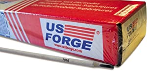 US Forge Welding Electrode E7018 1/8-Inch by 14-Inch 10-Pound Box #51834 by Us Forge