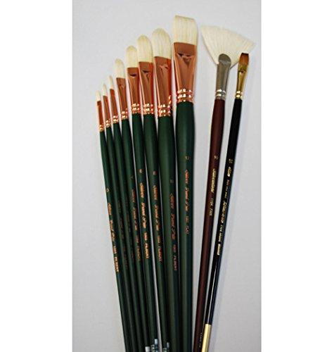 silver-brush-msn-010-michael-shane-neal-bravura-basic-brush-set-10-per-pack