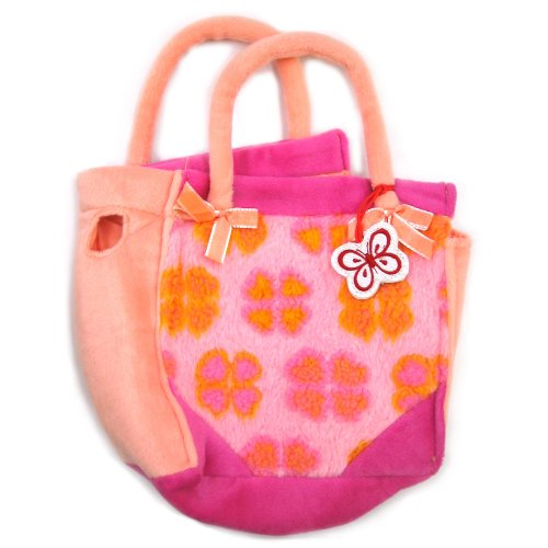 Fancy Schmancy Purse Pets Peach Ribbon