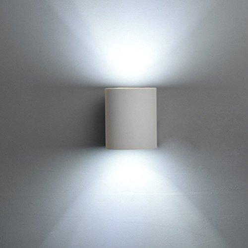 Deckey Lampada Da Parete In Ceramica, Illuminazione Decorativa In Gesso