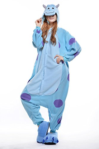 Unisex-Adult Onesie Cute&Comfortable Sully Pajamas (Xl) front-791145