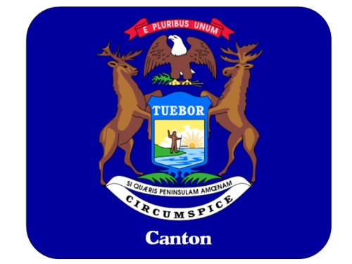 Canton, Michigan Mouse Pad