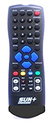 SUN DIRECT DTH TV / Sun Direct Plus+ Compatible REMOTE BY KEJIA (2 battery free)