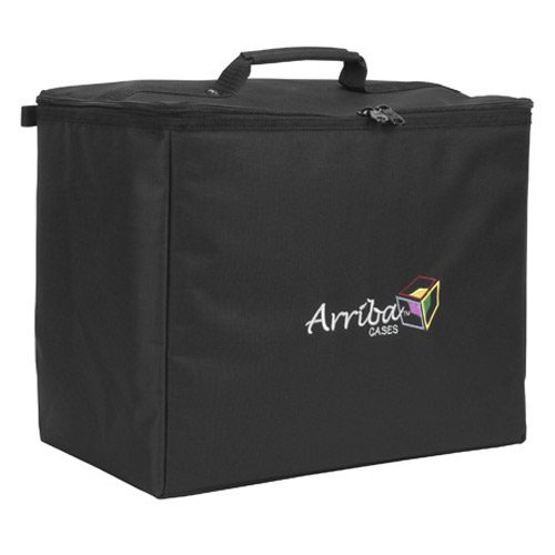 Read About Arriba Padded Multi Purpose Case Atp-16 Top Stackable Case Dims 16X10X14 Inches