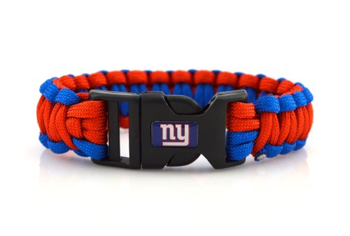NFL New York Giants Survival Cord Bracelet at Amazon.com