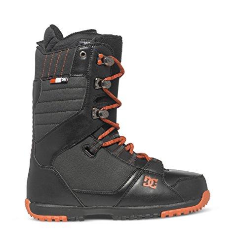 DC Men's Mutiny Snowboard Boot, Black, 10D