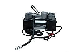 AutoFurnish AF6532 Autofurnish Heavy Duty Twin Cylinder Metal Air Compressor for Cars, SUVs and Small Trucks