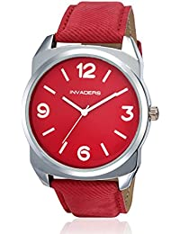 Invaders Oxfd Red Strap Mens Watch (INV-OXFD-RED)