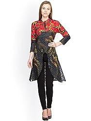 Panit Women's Cotton Kurta (PANI020_Multicolor_Large)