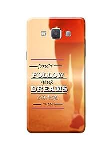 Samsung Galaxy A5 Case Kanvas Cases Premium Quality Designer 3D Printed Lightweight Slim Matte Finish Hard Back Cover for Samsung Galaxy A5