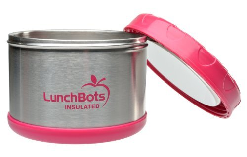Lunchbots Thermal 16-Ounce Stainless Steel Insulated Food Container, Pink Toy, Kids, Play, Children