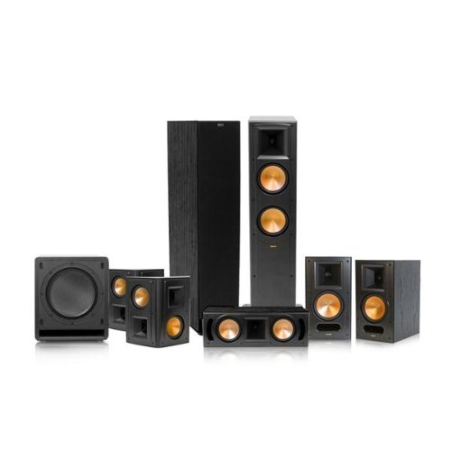 Klipsch Rf-62 Ii Reference Series 7.1 Home Theater System (Black)