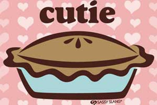 Licenses Products Sassy Slang Cutie Pie Magnet - 1