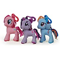 My Little Pony Plush Clip On Key Chains (Set Of 3)