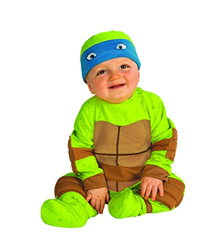 rubies costume babys teenage mutant ninja turtles animated series baby costume multi 0 6 months