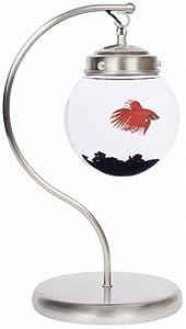AquaBetta Suspended Aquarium Desk Lamp, Modern Satin Nickel - Current USA