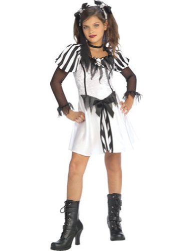 Kids-Costume Punky Pirate Child Lg Halloween Costume - Child Large