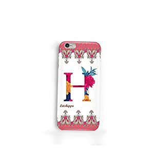 H - Alphabet iphone 6/6s case - Designer Letshippo