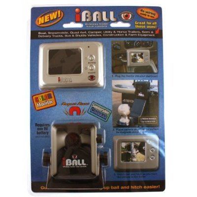 Iball wireless hitch camera