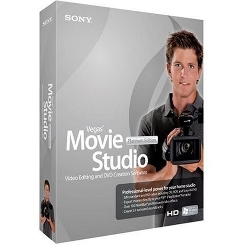 Bi Vegas Movie Studio+DVD 8 Platinum Edition (vf)