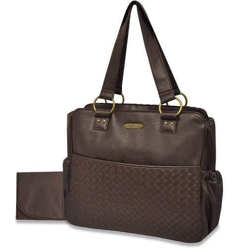 Wendy Bellissimo Woven Diaper Bag - 1