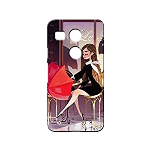 BLUEDIO Designer 3D Printed Back case cover for LG Nexus 5X - G4690