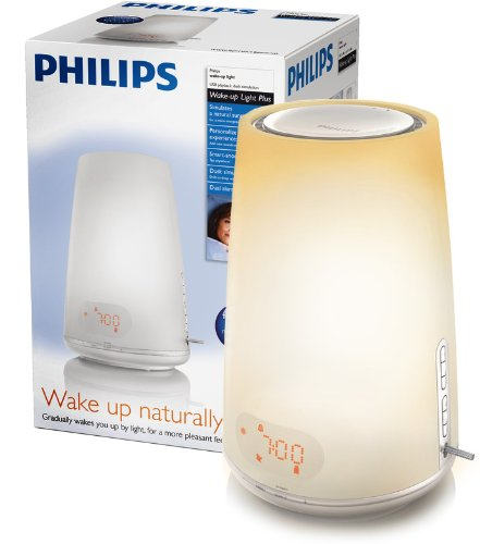 Philips HF3485 Wake-up Light with Radio Alarm and USB Playback
