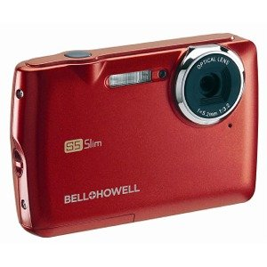Bell and Howell S5-R Slim 12MP Digital Video Camera (Red)