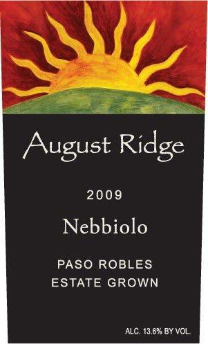 2010 August Ridge Nebbiolo 750 Ml