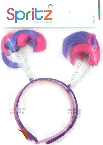 Spritz Purple & Pink Headbands - 1