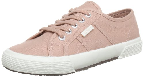 ESPRIT Italia Lace Up Low Top Women Pink Pink (rose 677) Size: 7.5 (41 EU)