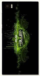 Attractive multicolor printed protective REBEL mobile back cover for Xiaomi Mi 3 D.No.N-L-11748-XM3