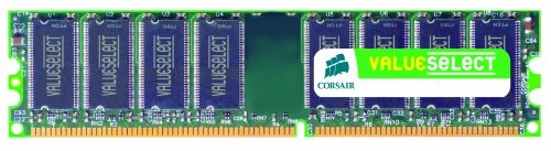 Corsair 1GB (1x1GB) DDR2 533 MHz (PC2 4200) Desktop Memory (Pe Design 6 Upgrade compare prices)