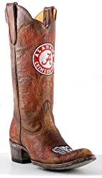 NCAA Gameday Alabama Crimson Tide Ladies Cowboy Boots