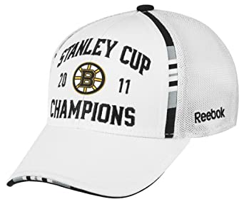 NHL Men's Boston Bruins 2011 Stanley Cup Champions Official Locker Room Hat