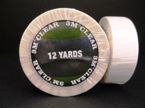 "Clear 3/4"" x 12 Yard Roll Toupee Tape"