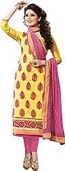 Sinina Cotton Salwar Kameez Suit UnStitched Dress Material