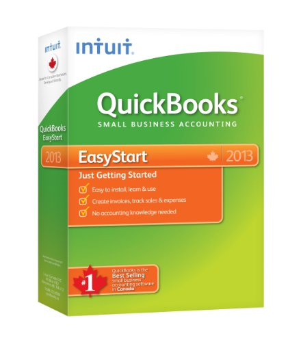 Intuit Quickbooks EasyStart 2013, English - Accounting Software [OLD VERSION]