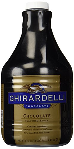 Ghirardelli Black Label Chocolate Sauce 87.3oz - Single Bottle (Chocolate Sauce Coffee compare prices)