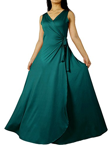 Prom Dress Formal Evening Ball Gown Long Bridesmaid Maxi Wrap Graduation Party Sexy (3X-Long 57 inch, Teal (Cheap Fancy Dress Plus Size)