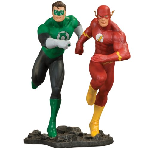 DC Comics Justice League of America Build A Scene Statue Part 3