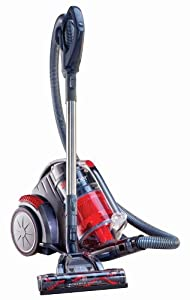 Hoover Zen Whisper Multi Cyclonic Canister Vacuum, Red, SH40080