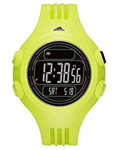 Adidas ADP6100 Questra XL Yellow Black Digital Dial Unisex Sports Watch