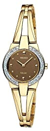 Seiko Womens SUP054 Solar Aria Watch