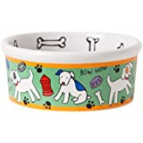 Signature Housewares Spot Dog Bowl, Medium